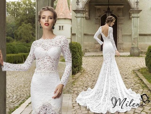 Very elegant and beautiful lace wedding dress slimming for Slimming undergarments for wedding dress