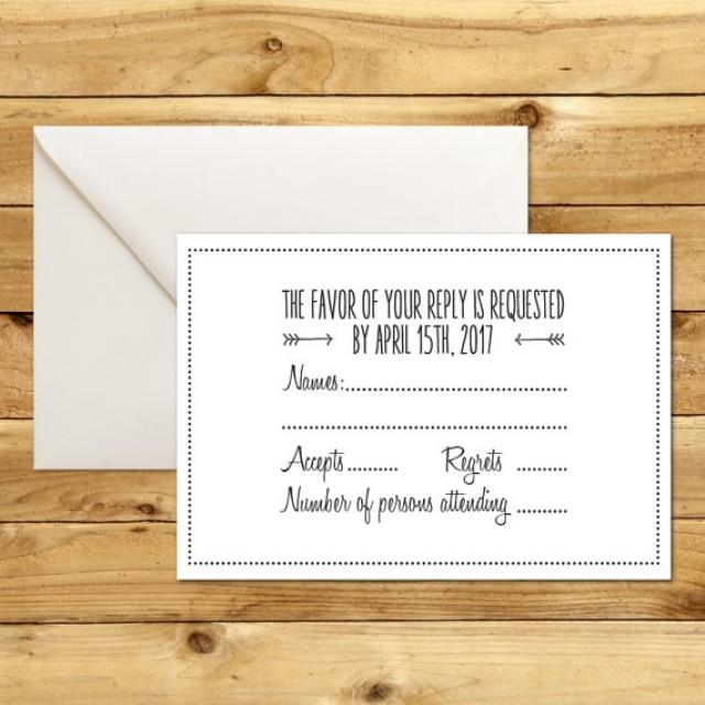 rsvp cards for weddings templates - rsvp card template word 28 images printable wedding