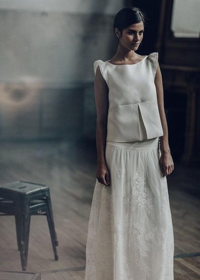Laure De Sagazan Wedding Dress Collection 2016 - Weddbook 19a4451a83b8