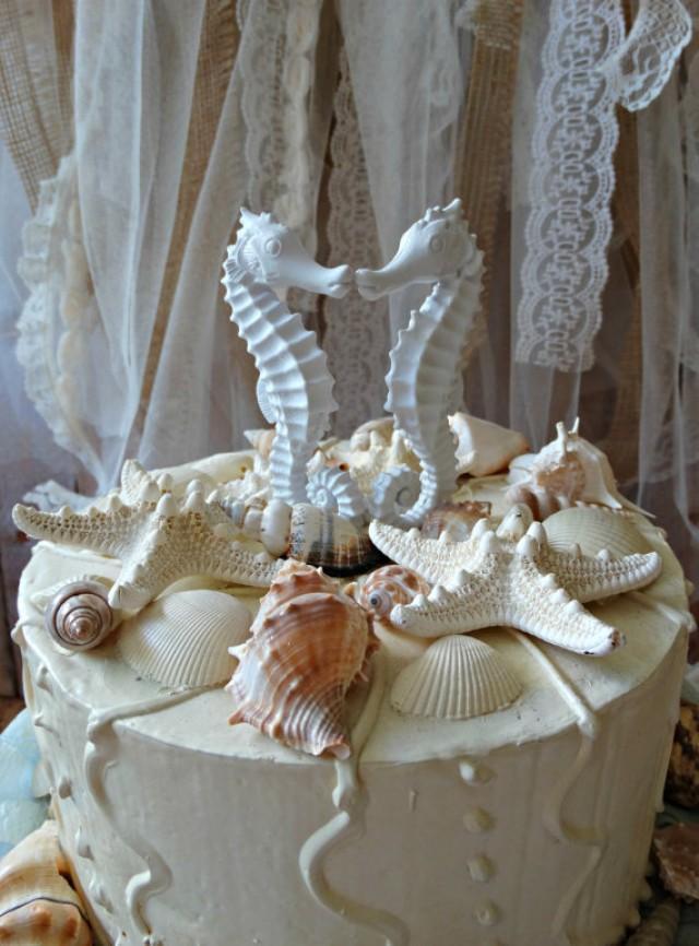 Buy Seahorse Wedding Cake Topper