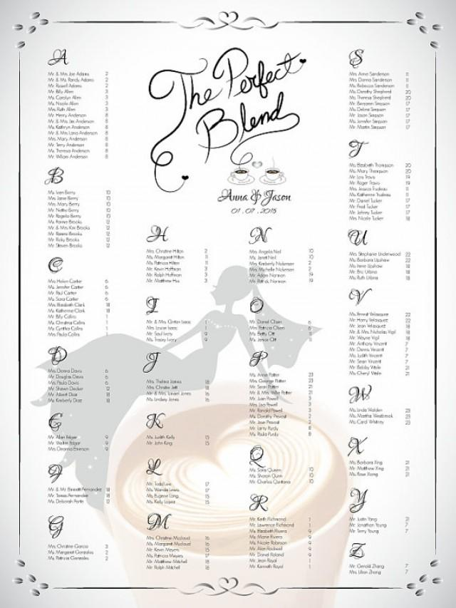 Microsoft Word Wedding Seating Plan Template Design Your Wedding – Wedding Seating Chart Template Free Printable