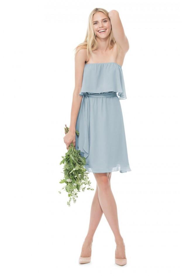 wedding photo - Shop Blue Bridesmaid Dresses & Gowns By Color