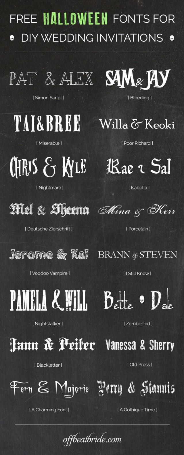 16 bewitching free halloween fonts for scarily good diy