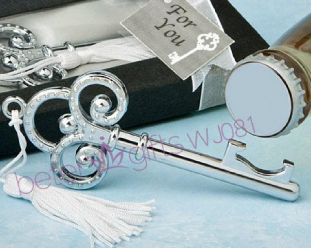 wedding photo - Acheter 50 boîte clé à mon coeur décapsuleur victorienne anneaux WJ081 de mariage décoration de thèmes cadeaux fiable fournisseurs sur Shanghai Beter Gifts Co., Ltd.