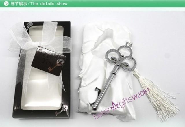 wedding photo - Acheter 50 boîte victorienne décapsuleur faveurs pour demoiselle d'honneur parti ou Bachelorette party anneaux WJ081 de emballage cadeau fiable fournisseurs sur Shanghai Beter Gifts Co., Ltd.