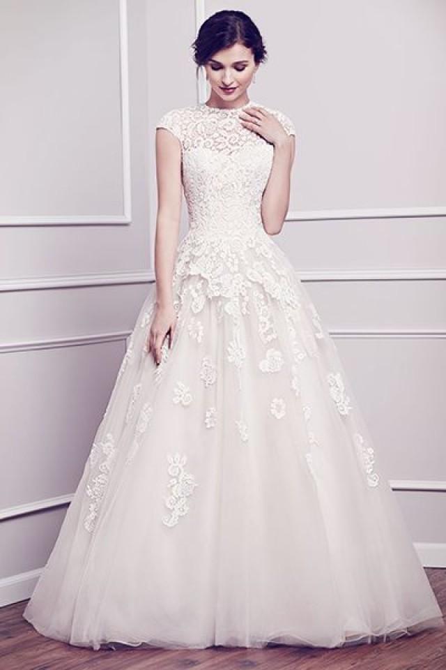 Awesome Modest Vintage Wedding Dresses Ideas - Styles & Ideas 2018 ...