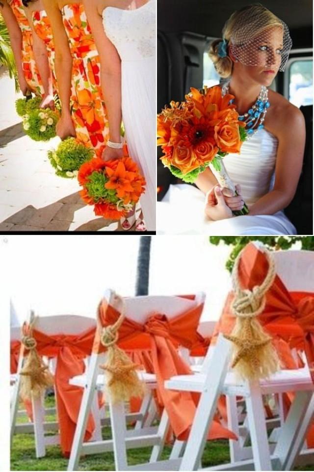 Wedding Theme - Tangerine Tango Wedding Ideas #2359852 ... Tangerine Tango Wedding