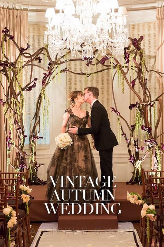 Wedding Theme - Vintage Autumn Wedding #2359874