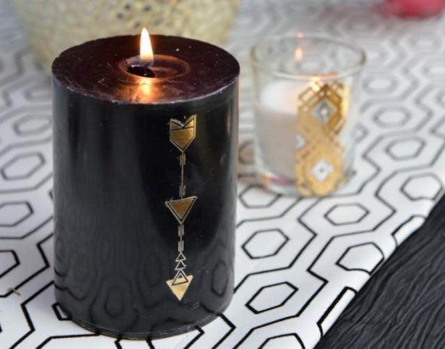 Diy comment customiser des bougies pour cr er un d cor - Comment fabriquer des bougies ...