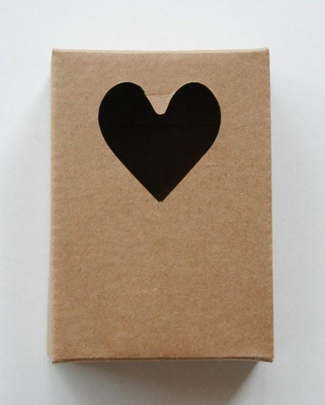 how to make a heart box out of cardboard