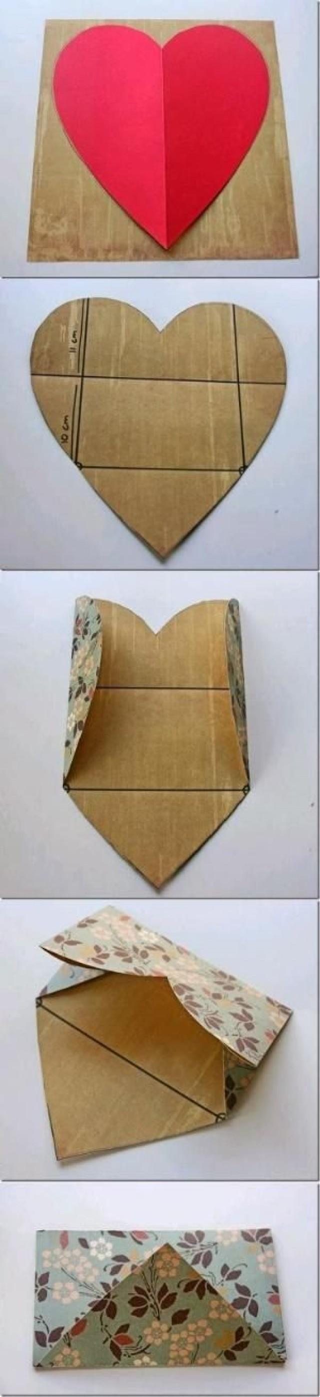 Как самим сделать конверт