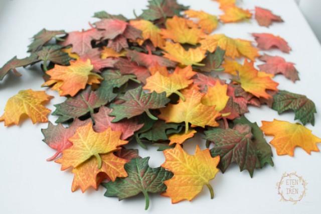 wedding photo - Wedding Decor 'Autumn Leaf', Fallen Leaves