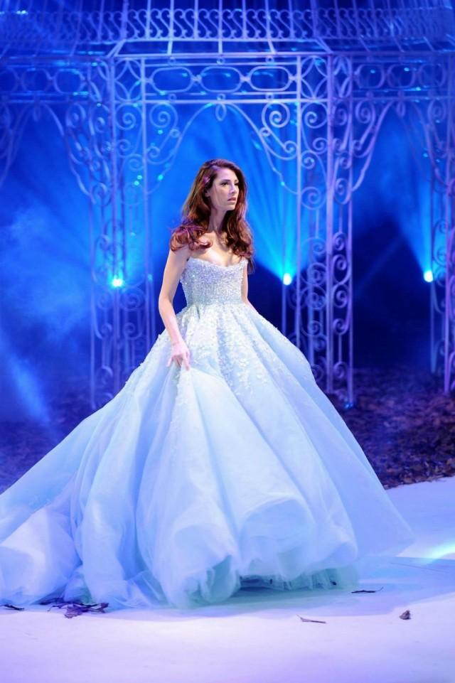 New arrival light blue wedding dresses 2016 spaghetti for Wedding dress light blue