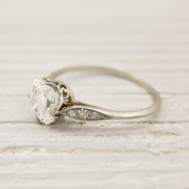 Jewelry Vintage Engagement Rings Weddbook