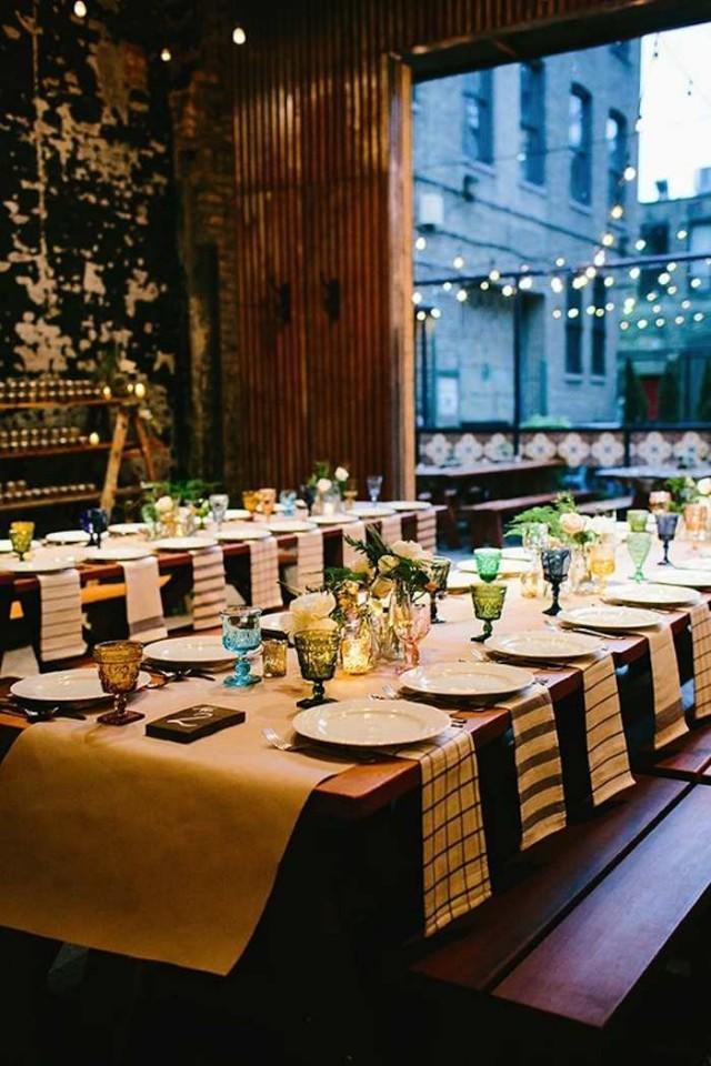 Restaurant Decoration For Wedding : Modern restaurant weddings and decor ideas weddbook
