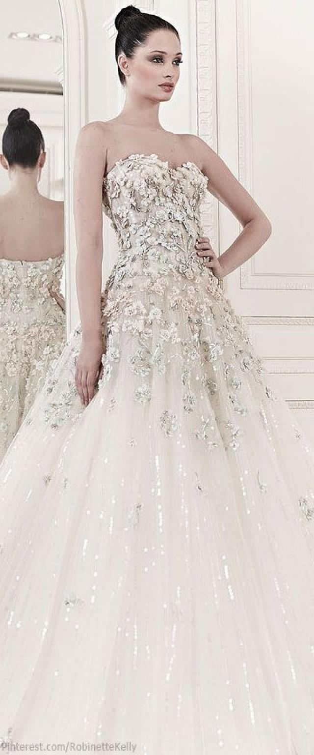 Even single girls are going to freak out over these zuhair for Zuhair murad 2014 wedding dresses