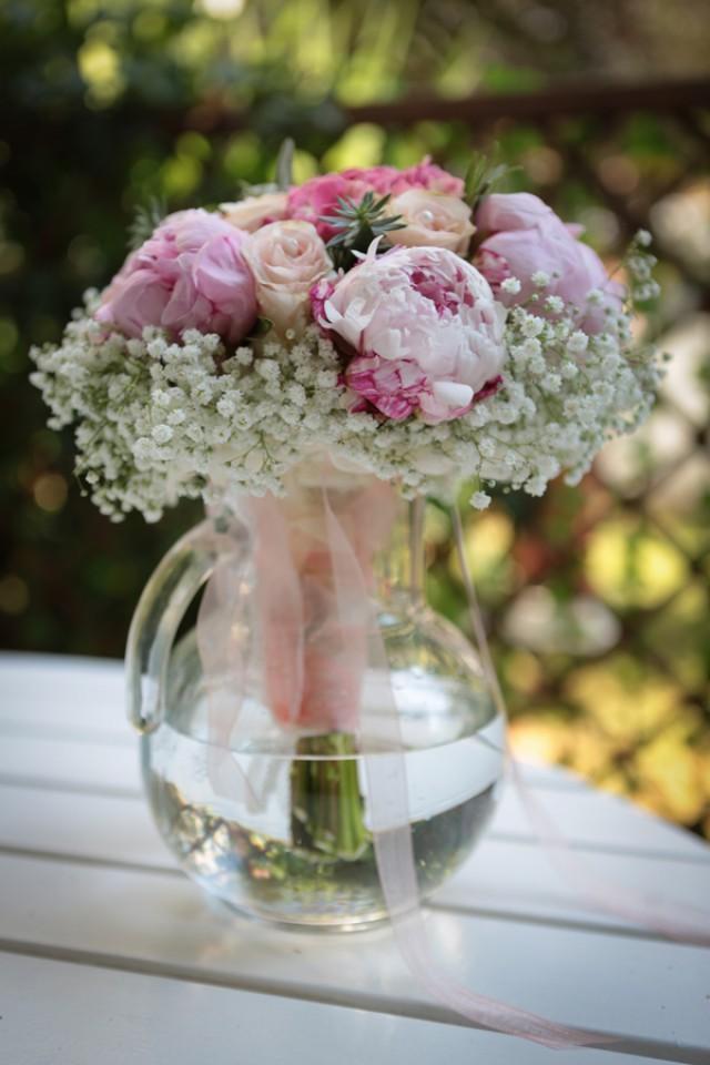 Bouquet Sposa Romantico Con Peonie E Ortensie  My Wedding - Weddbook
