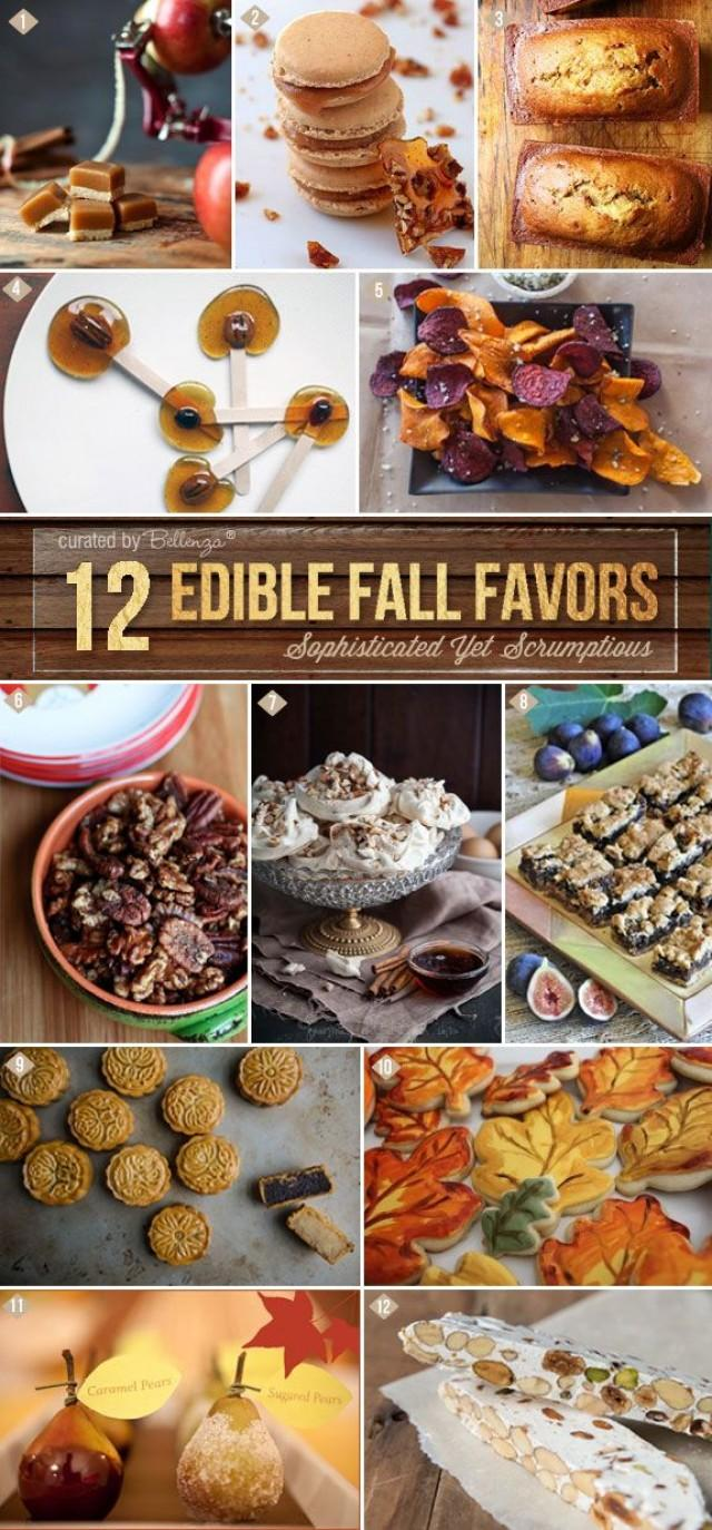 edible fall wedding favors go sophisticated with an artisan flair