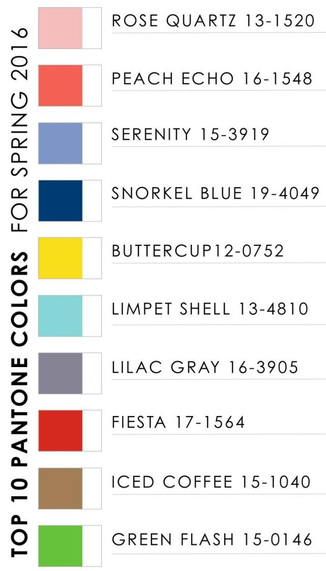 ideas top 10 pantone colors for spring 2016 2365287 weddbook. Black Bedroom Furniture Sets. Home Design Ideas