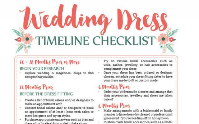 Download this wedding dress planning timeline amp planning workbook