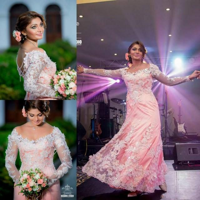 Modest 2015 indian wedding dresses with long sleeves plus for Plus size indian wedding dresses