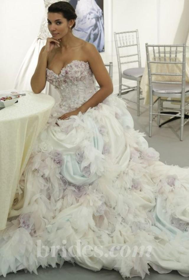 Multi Colored Wedding Gowns With Tons Of Personality