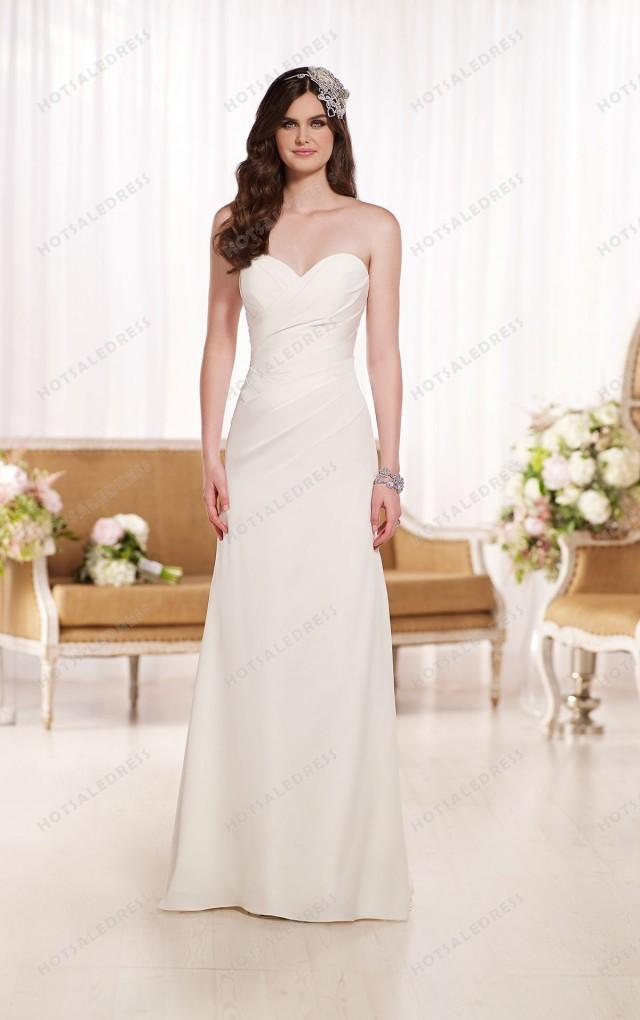 Essense of australia designer strapless wedding dresses for Essense of australia strapless long wedding dresses