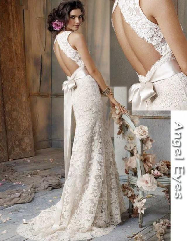 Dress my fave wedding gowns 2367983 weddbook for Backless wedding dress bra