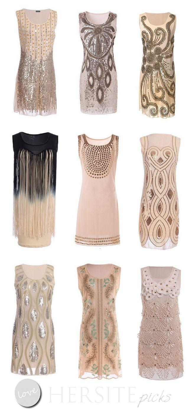 15 Gatsby Style 1920s Flapper Dresses You Can Buy Under $30 Dollars ...