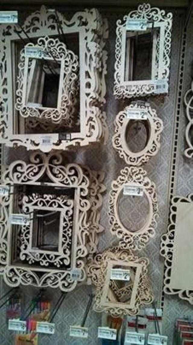 Ideas For Unfinished Decorative Wood Frames 2368101