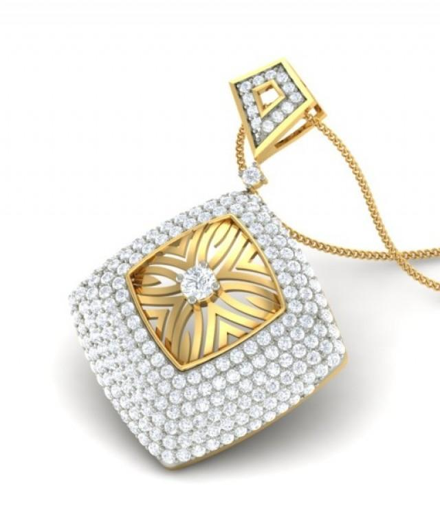 wedding photo - The Anaida Diamond Pendant