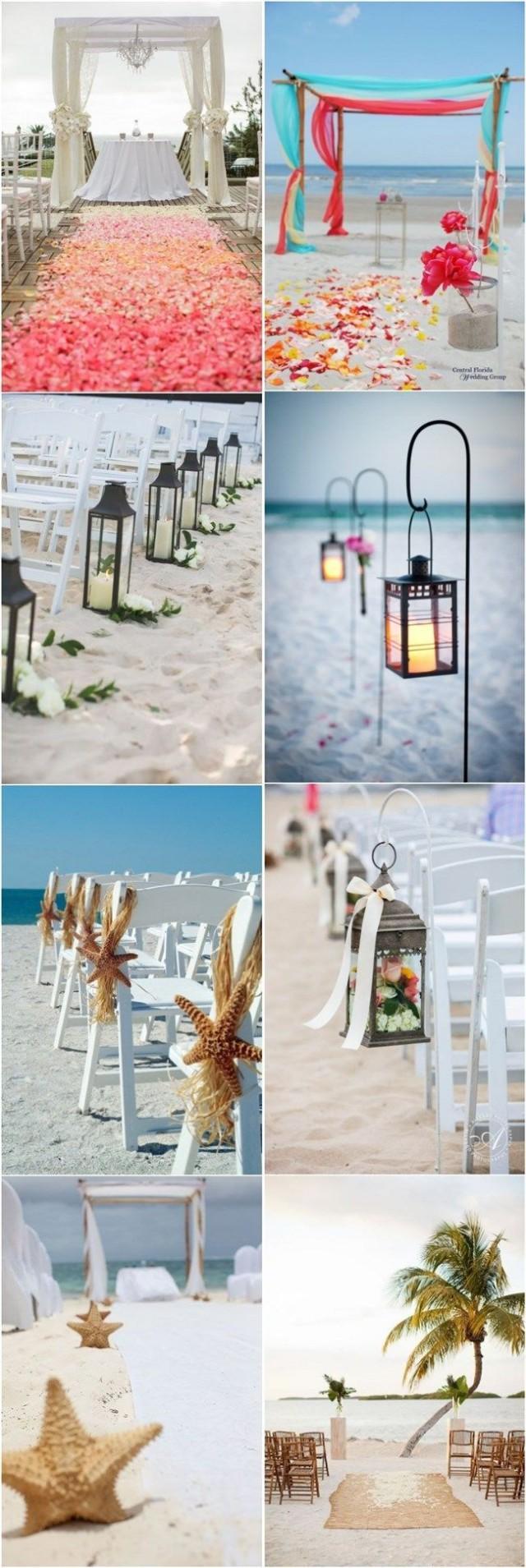 Ideas 50 beach wedding aisle decoration ideas 2369056 for Aisle decoration ideas for wedding