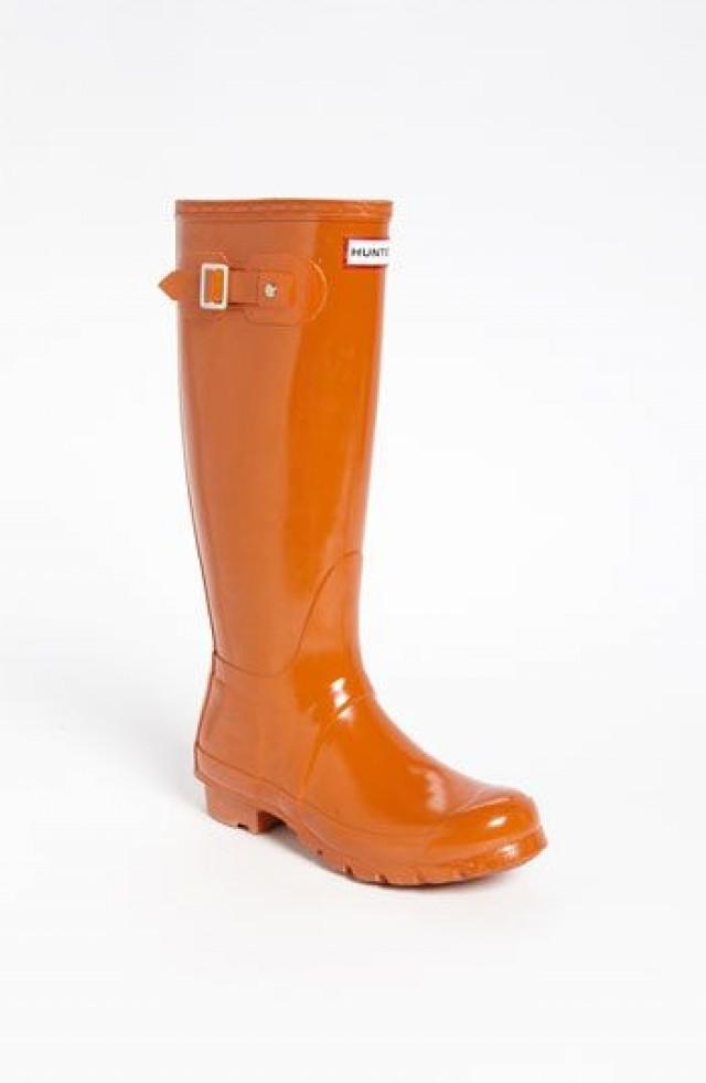 Hunter 'Original Tall' Gloss Rain Boot (Women) #2370195 ...