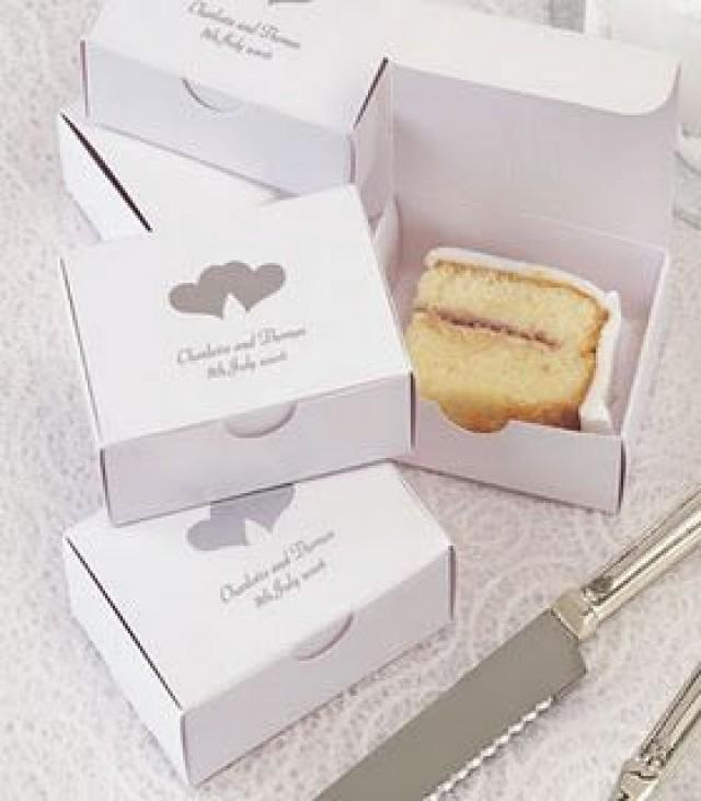 Boxes For Leftover Wedding Cake