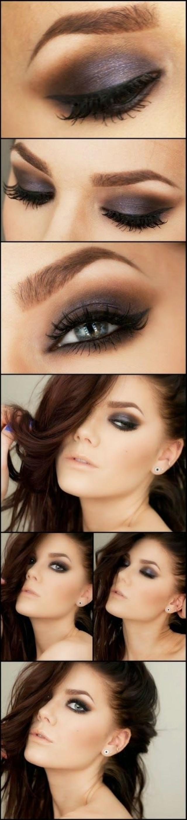 Nude eye makeup tutorial
