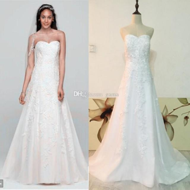 wedding photo - Vestido Noiva Robe De Mariage Lace Wedding Dresses Sweetheart Tulle A Line Floor Length Zipper Closure Bridal Gown with Beading And Sequins Online with $163.25/Piece on Gama's Store