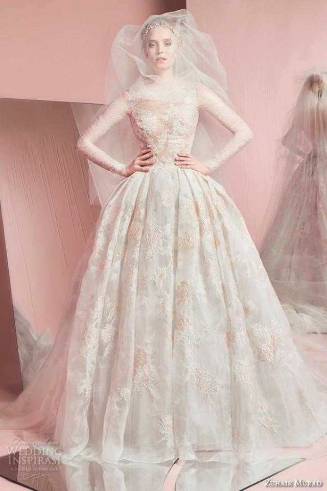 Zuhair murad bridal spring 2016 wedding dresses 2372013 for Zuhair murad used wedding dress