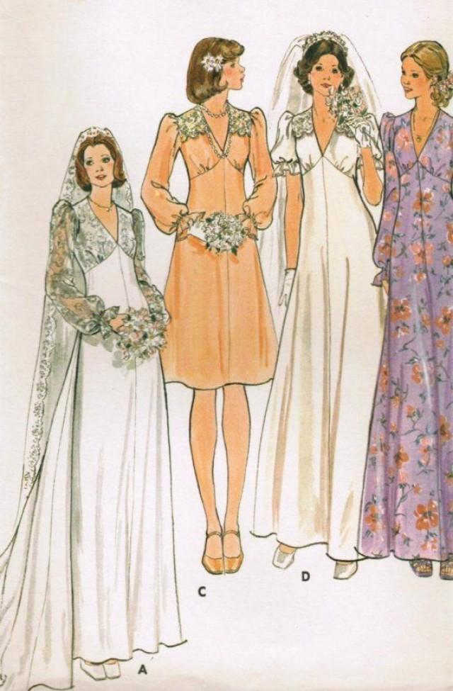 1960s butterick 4036 uncut vintage sewing pattern misses for Wedding dress sewing patterns free