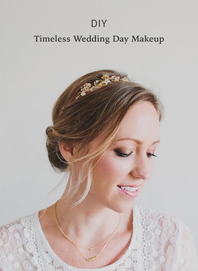 Diy Wedding Day Makeup : DIY Timeless Wedding Day Makeup - Weddbook