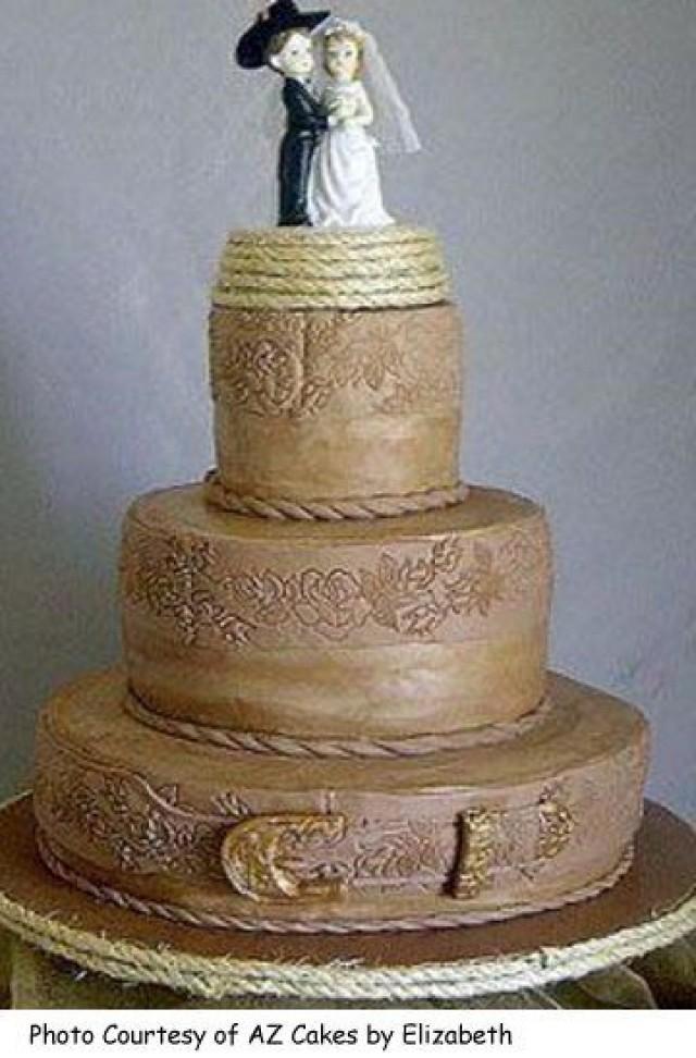 Wedding Theme - Country Western Wedding Cakes #2372669 - Weddbook
