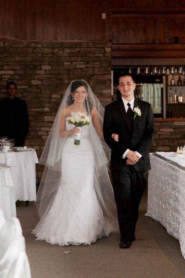 Cathedral Length 108 Two Tier Wedding Bridal Veil W