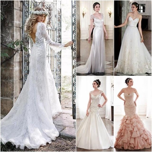 Vintage Wedding Dresses Maggie Sottero : Maggie sottero wedding dresses spring 2015 collection weddbook