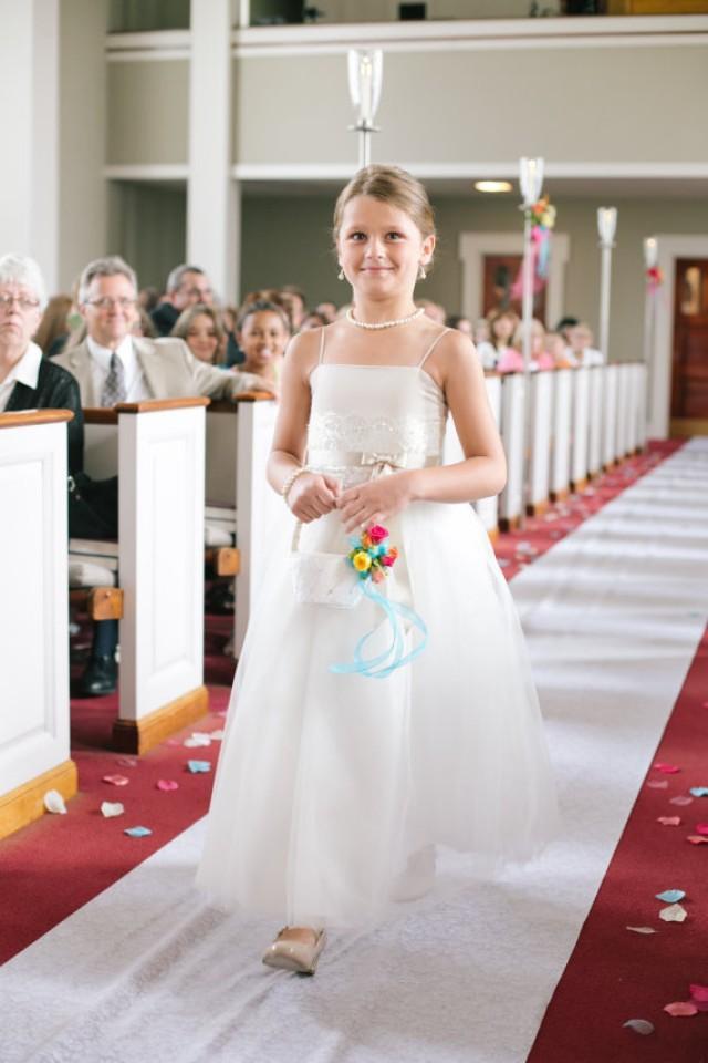 Flower Girl Jewelry Set Bridal Pearls Junior