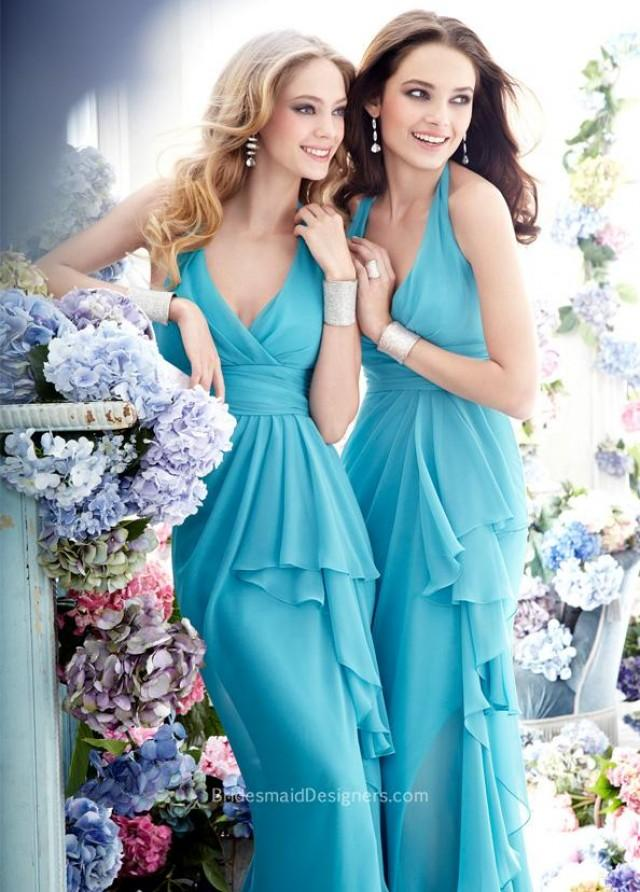 wedding photo - Halter Neckline Wedding Dresses, BridesmaidDesigners