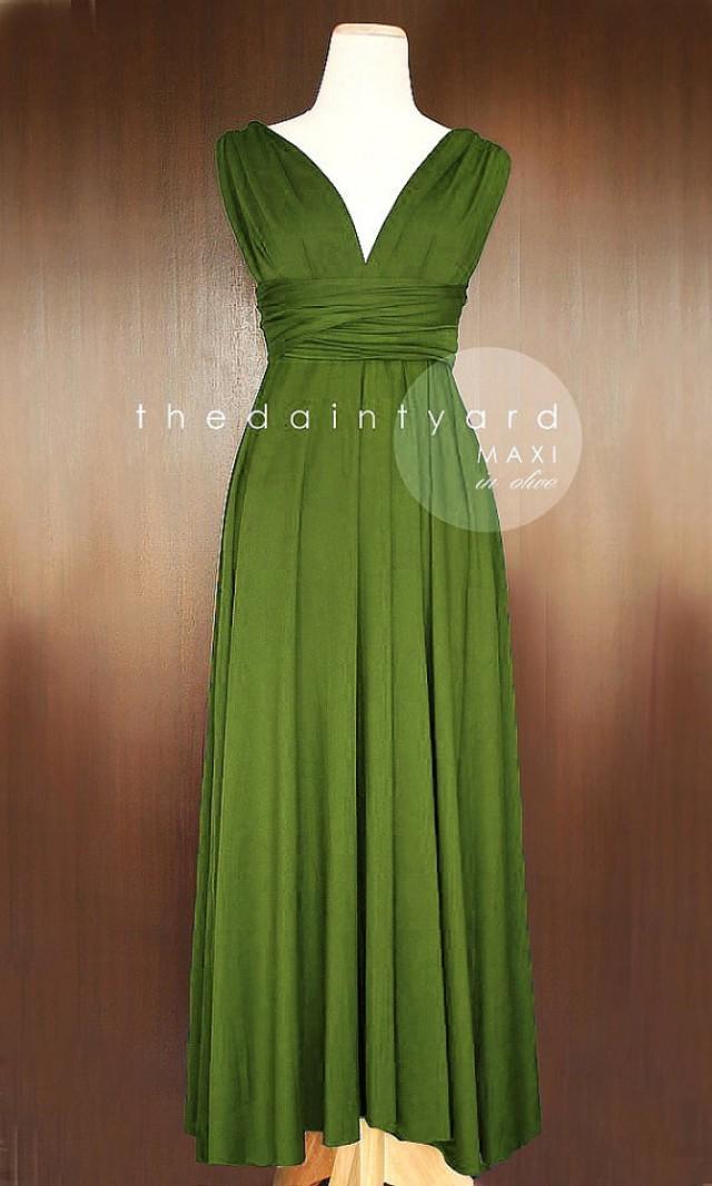 how to make infinity dress full length
