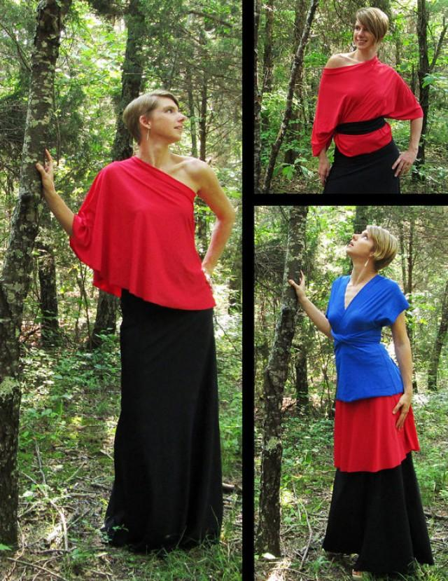 Short MULTI-WEAR Skirt -- Many Fun Ways To Wear It ...