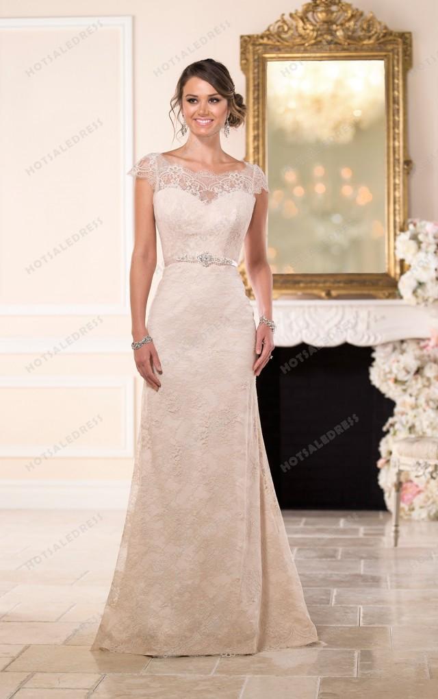 wedding photo - Stella York Vintage Inspired Wedding Dresses Style 6043