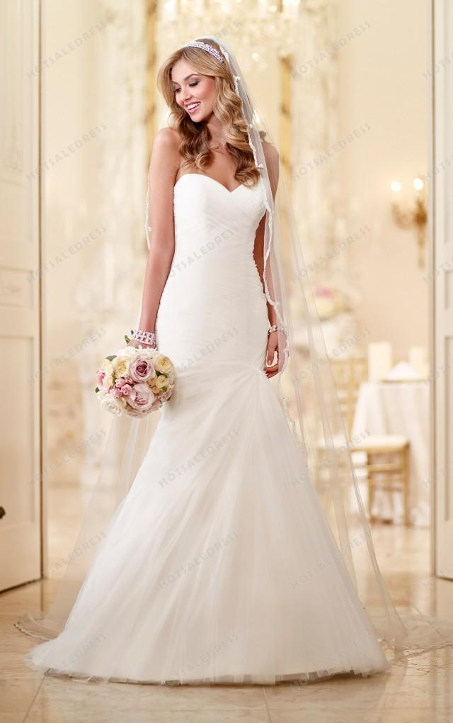wedding photo - Stella York Tulle Skirt Wedding Dresses Style 6047
