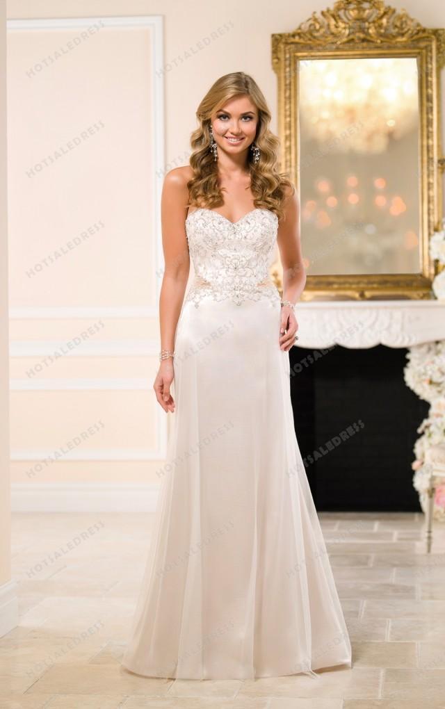 wedding photo - Stella York A Line Wedding Dresses Style 6059
