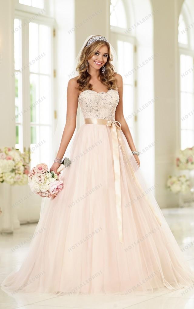 wedding photo - Stella York Tulle Wedding Dress Style 6028